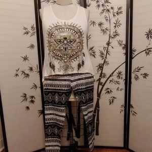 Brand new two piece set in my closet with and with